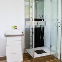 Wellness in Essen Dusche