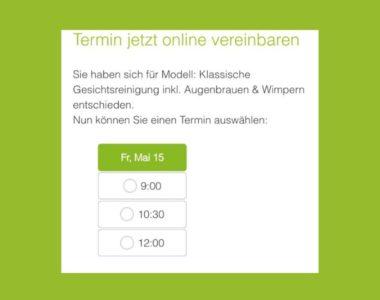 Einfach Modell-Termine online vereinbaren!