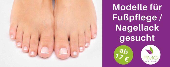 Fußpflege-Modelle gesucht