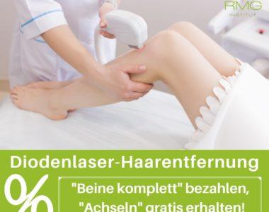 Sommer-Angebot: Laser-Haarentfernung Beine & Achseln