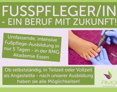 Fußpflege-Ausbildung in nur 5 Tagen