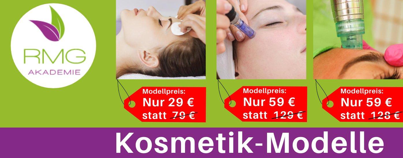 Kosmetikausbildung modelle slider